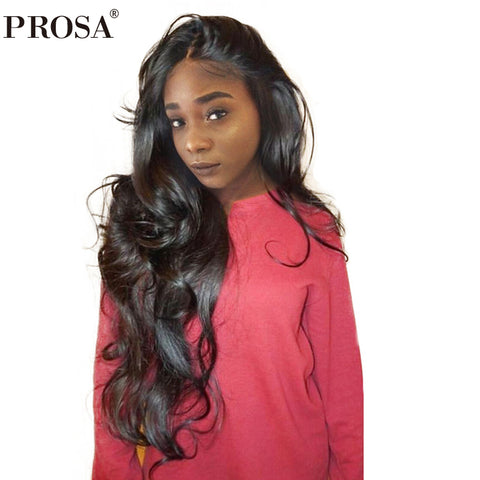 360 Lace Frontal Wig Pre Plucked With Baby Hair 180% Density Lace Wig Brazilian Body Wave Lace Front Human Hair Wigs Remy Prosa