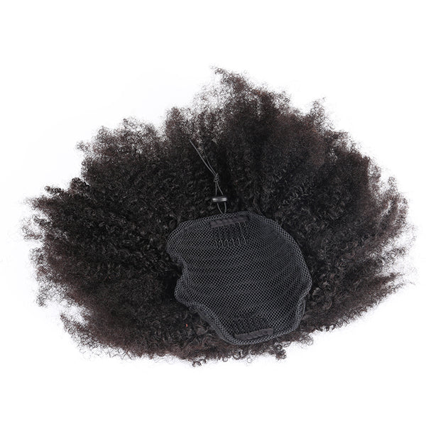 4B 4C Afro Kinky Curly Ponytails Extensions Brazilian Clip In Human Hair Ponytails Natural Hair Prosa Hair Products Remy
