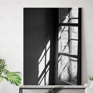 Canvas painting Pictures wall painting art poster Wall print  home decor Black and white