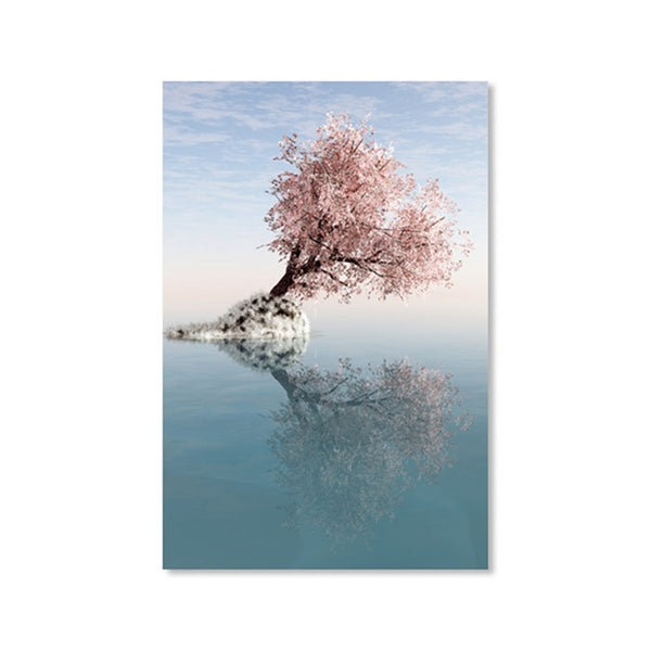 Nordic Decoration Home Wall Art Picture Minimalist Romantic Sea Landscape Posters