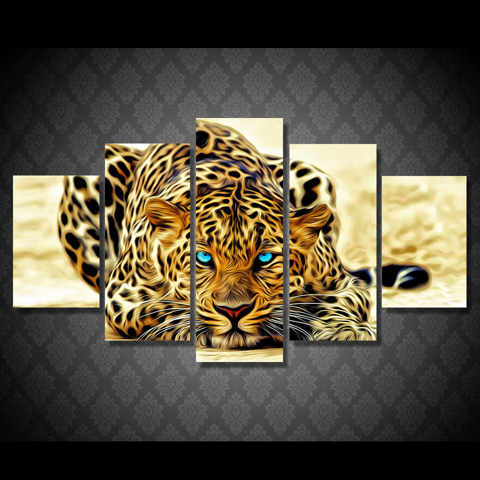 HD Printed Animal Tiger Group Painting wall art Canvas Print room decor print poster picture canvas Free shipping/H039