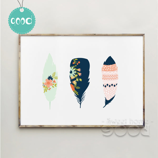 Cartoon Colorful Feature Canvas Art Print Poster, Wall Pictures for Home Decoration, Wall Decor FA238-7