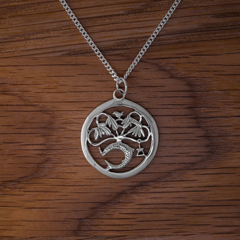 Large Pendant - Silver
