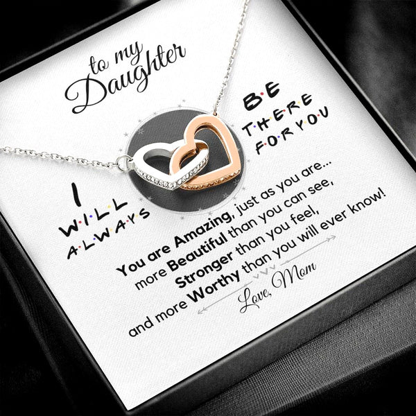 (Almost Gone) Daughter(s) Always There for you Necklace [SAVE $20]