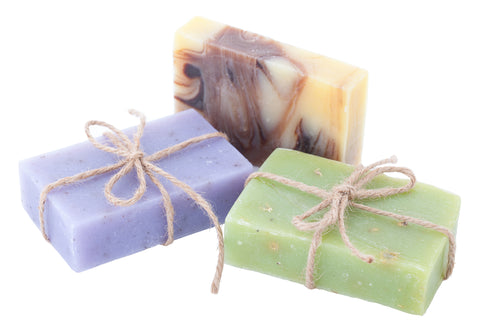 natural skin care with DIY soap