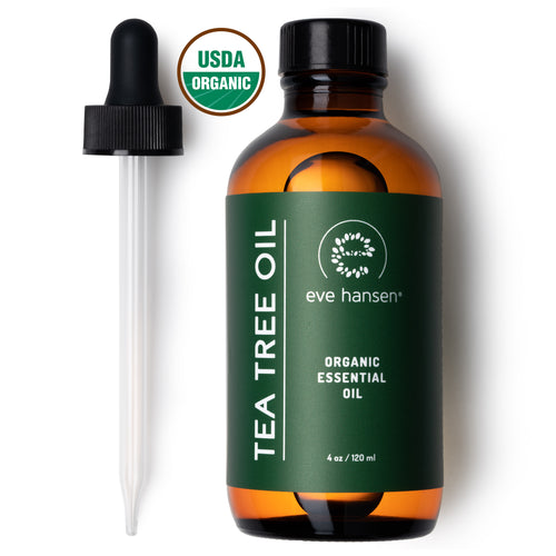 Organic Tea Tree Oil - 2 oz and 4 oz