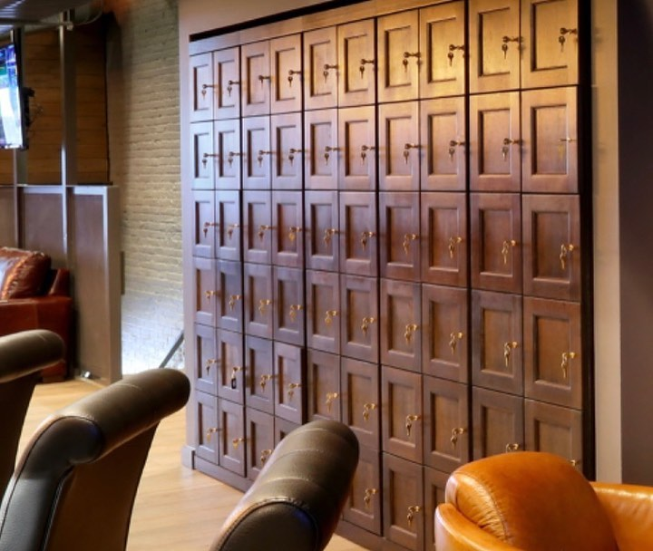 A huge cigar locker from a  cigar humidors online site