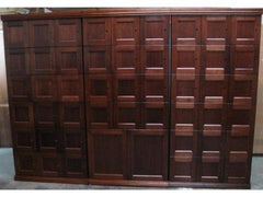 Flat Panel Door Cigar Lockers- Spanish Cedar Wood