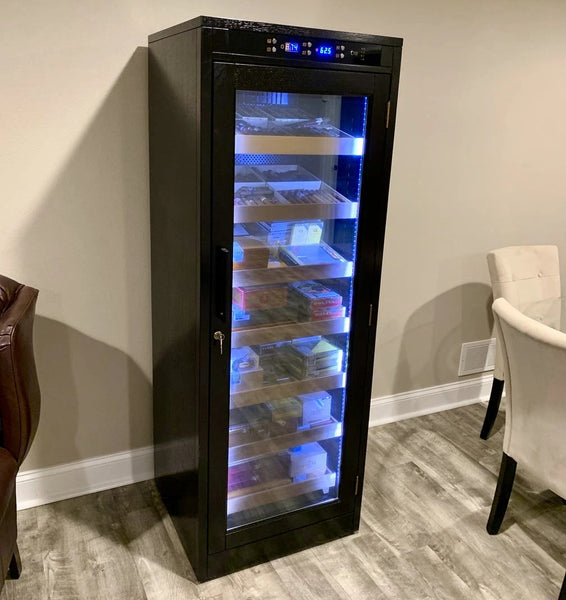 The Remington Lite Electric Cabinet Humidor LED