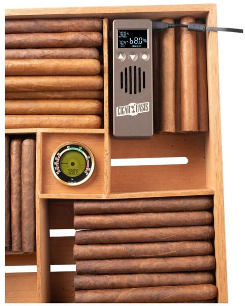 Cigar Oasis Plus 3.0 Electronic Humidifier for End-Table Humidors