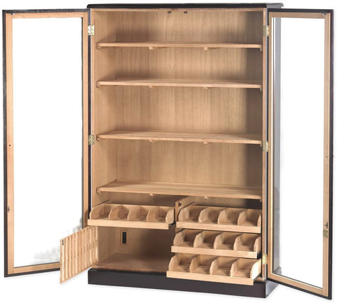 Commercial Mahogany Cabinet Humidor by Quality Importers