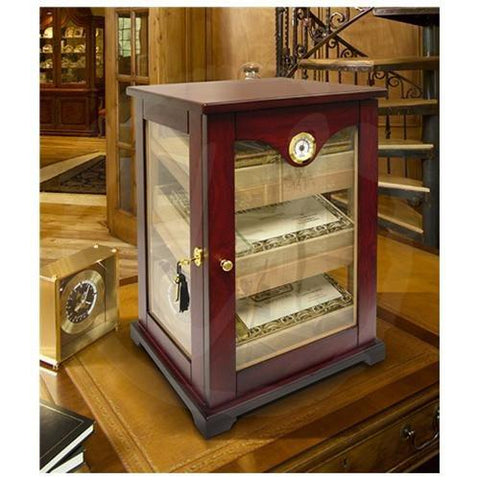 Vinotemp Cigar Mate 150 Desktop Humidor Brown