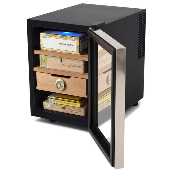 Whynter CHC-122BD Elite Touch Control Stainless Cigar Humidor