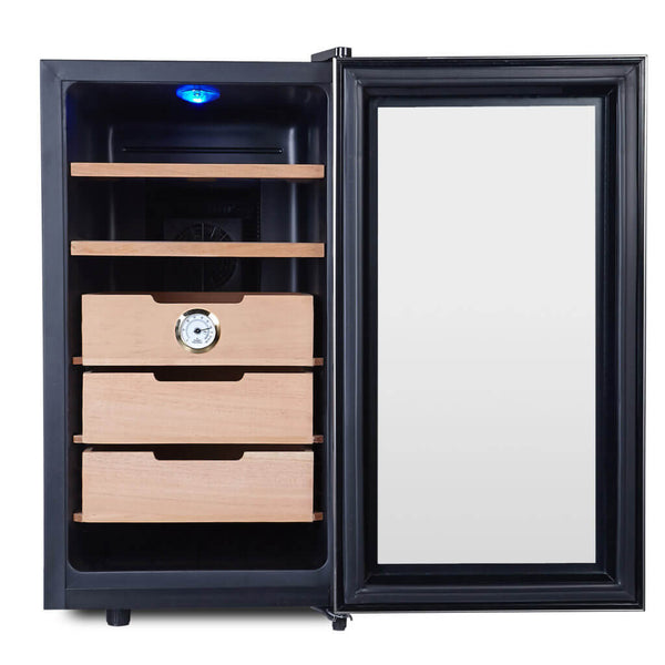 Whynter CHC-172BD Elite Touch Control Stainless Humidor Cabinet