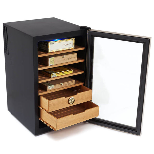 Whynter CHC-251S Stainless Steel Cigar Humidor 2.5 cu. ft.