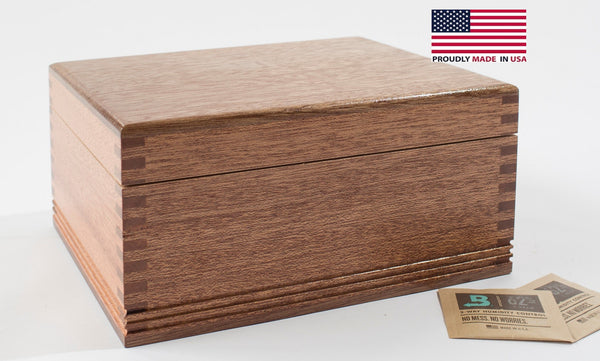 HNE1 Medium Humidor Cigar Storage by American Chest Company
