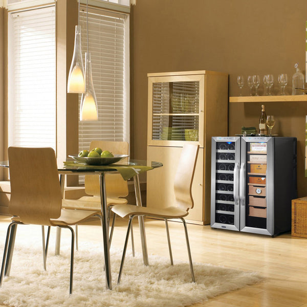 Whynter CWC-351DD Multipurpose Wine Cooler and Cigar Humidor