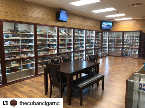 Cigar Humidor Cabinets made in The USA For Cigar Lounges