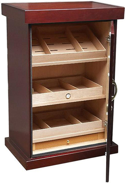 The Spartacus Large Display Cigar Humidor Cabinet