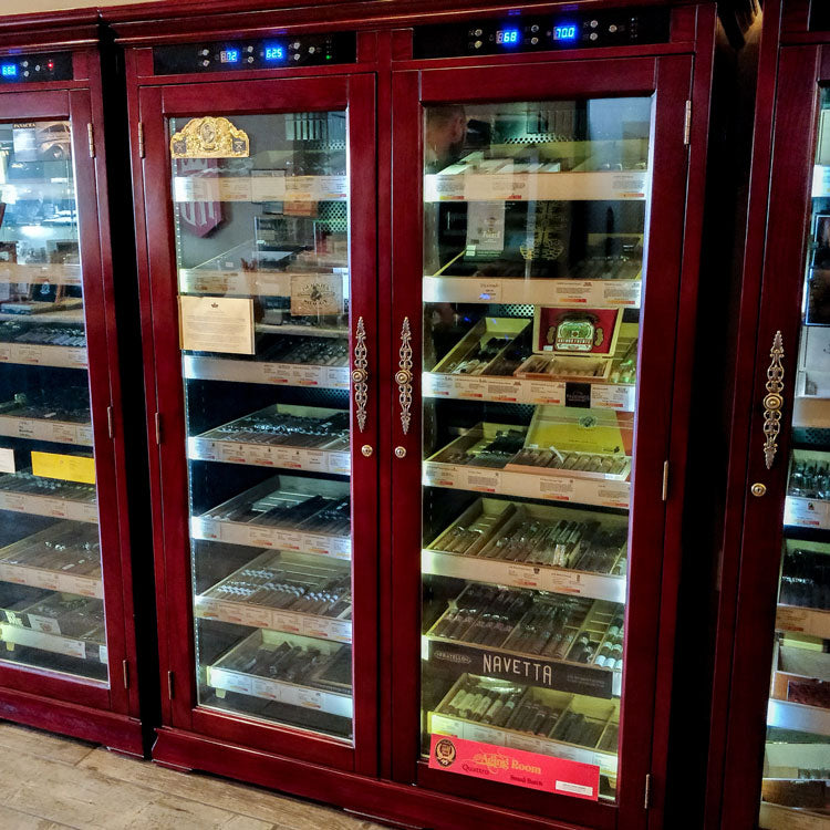The Reagan Temperature Regulated Humidor Cabinet