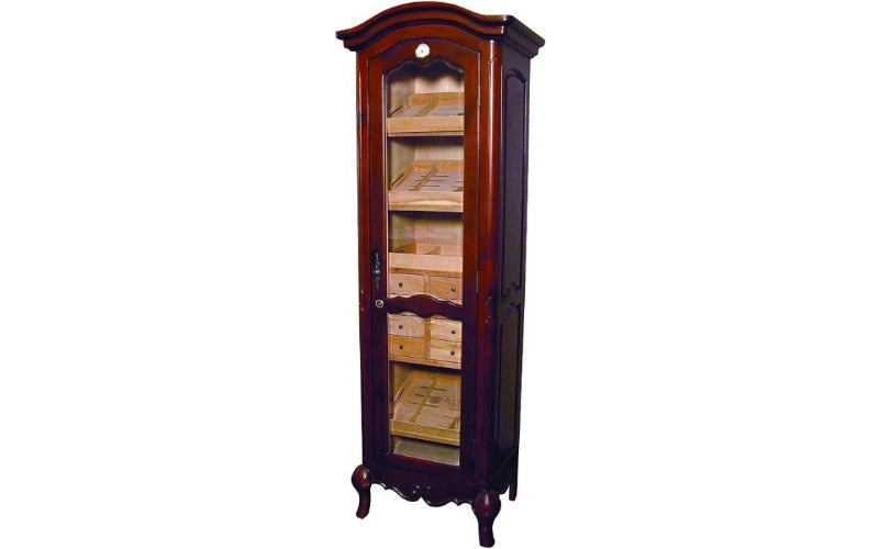 Chancellor Antique Tower Humidor Cabinet