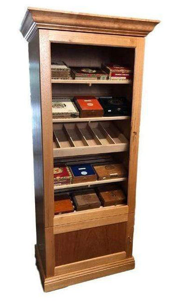 Deluxe Display Humidor Cabinet 3,000 Cigars