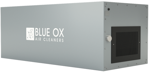 Blue Ox 1100 Air Cleaner Gray