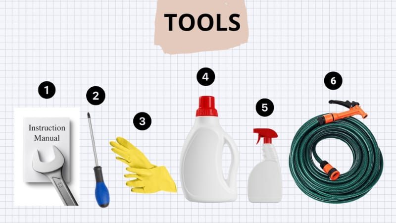 Tools Needed for cleaning air filters