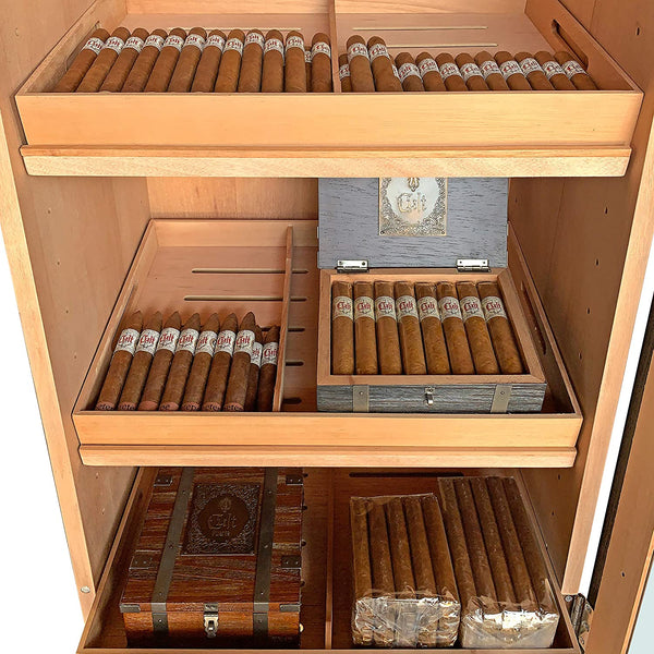 Tower of Power II Cigar Cabinet Humidor by Quality Importers