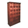 Elegant Bar Cigar Lockers 24 Unit Cigar Locker Unit with Humidifying Unit