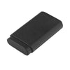 3 FINGER LEATHER CASE Black Shark Skin