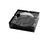 Quality Importers Ashtray 4 Cigar Crystal Ashtray - Black
