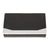 Bey-Berk Desktop Humidor Black Leather 4 Cigar Humidor Set