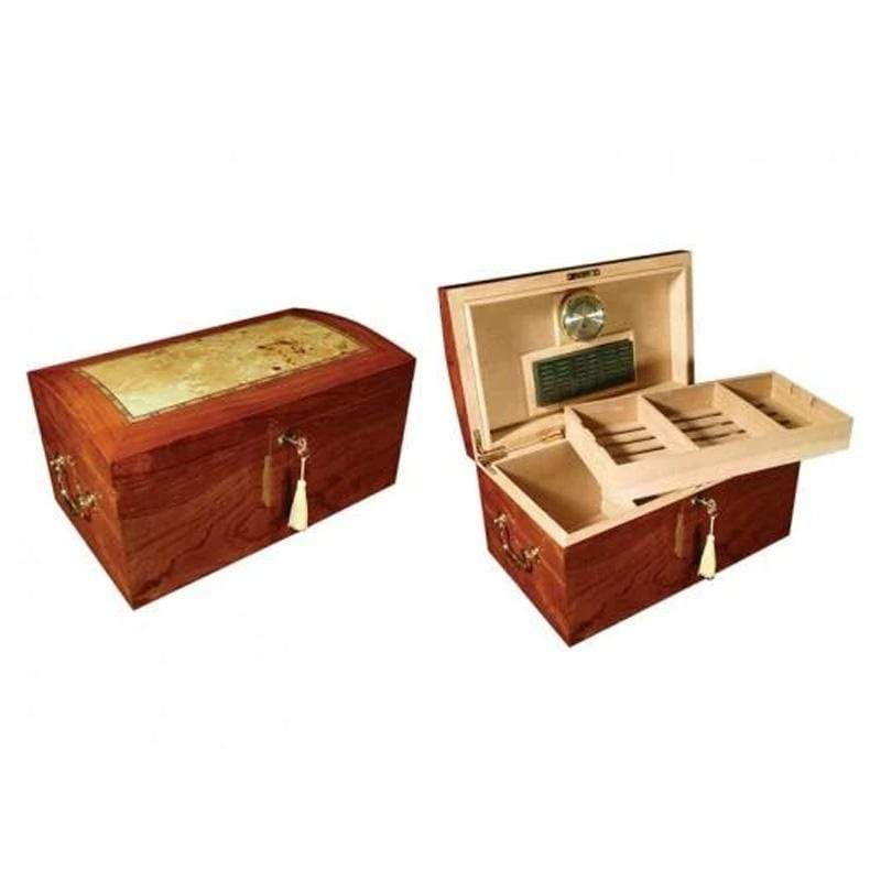 Prestige Desktop Humidor Broadway High Gloss Lacquer Cigar Humidor Gift Set | 150 Cigars