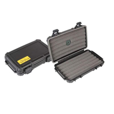 Quality Importers Travel Humidor Cigar Caddy 5ct
