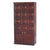 Cigar Locker Wall Cabinet Dark Mahogany Media 1 of 2