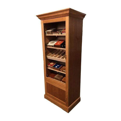 Deluxe 1000 Display Humidor Cabinet |3000 Cigars, one of the best humidor cabinets