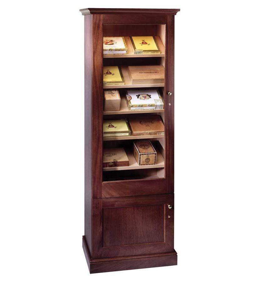 Elegant Bar Display Humidor Elegant 1000 Traditional Display Case