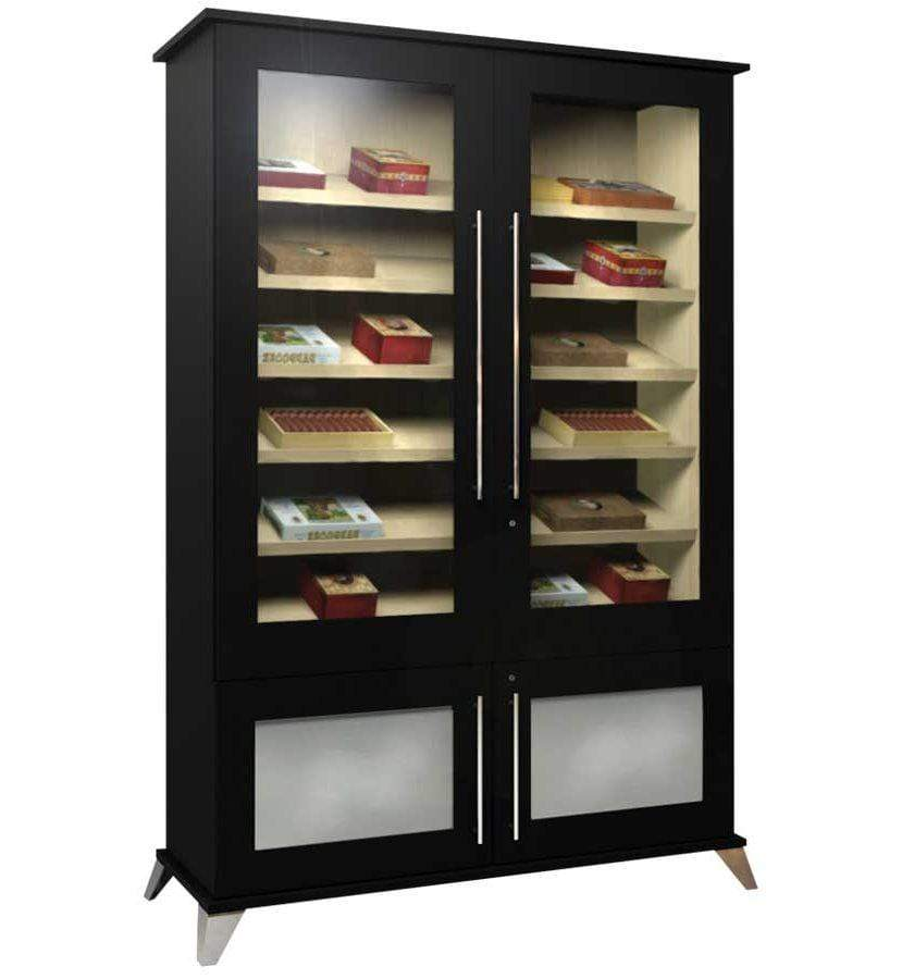 Elegant Bar Display Humidor Elegant 2000 Contemporary Humidor Cabinet