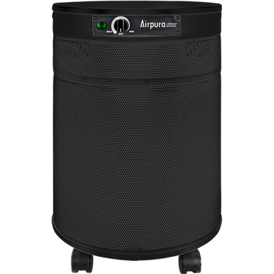 Airpura Air Purifier Black / With True HEPA Filter (99.97% of particles ≥ 0.3 microns) H600 Air Purifier for Severe Allergies & Asthma by Airpura