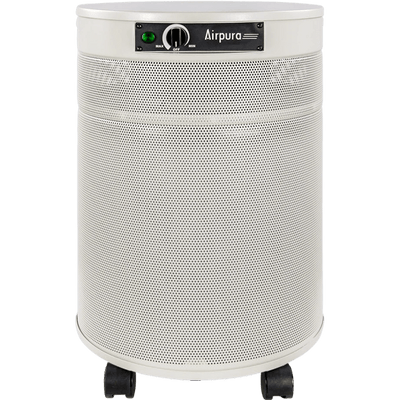 Airpura Air Purifier Cream / With True HEPA Filter (99.97% of particles ≥ 0.3 microns) H600 Air Purifier for Severe Allergies & Asthma by Airpura