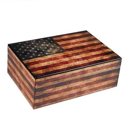 Humidor Supreme Old Glory Weathered American Flag