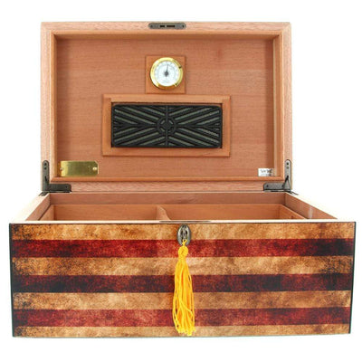 Humidor Supreme Old Glory American Flag