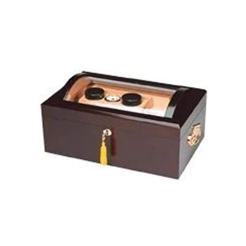 150 Cigar Dome Glasstop Humidor Quality Importers