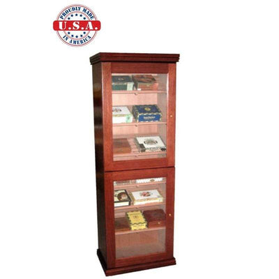 Model 2 Cigar Humidor Cabinet | Made in USA