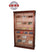 Elegant Bar HUMIDOR Model 3 All Glass Cigar Humidor Display Cabinet