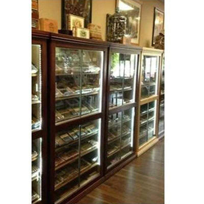 Model 3 All Glass Electronic Cigar Humidor Display Cabinet review