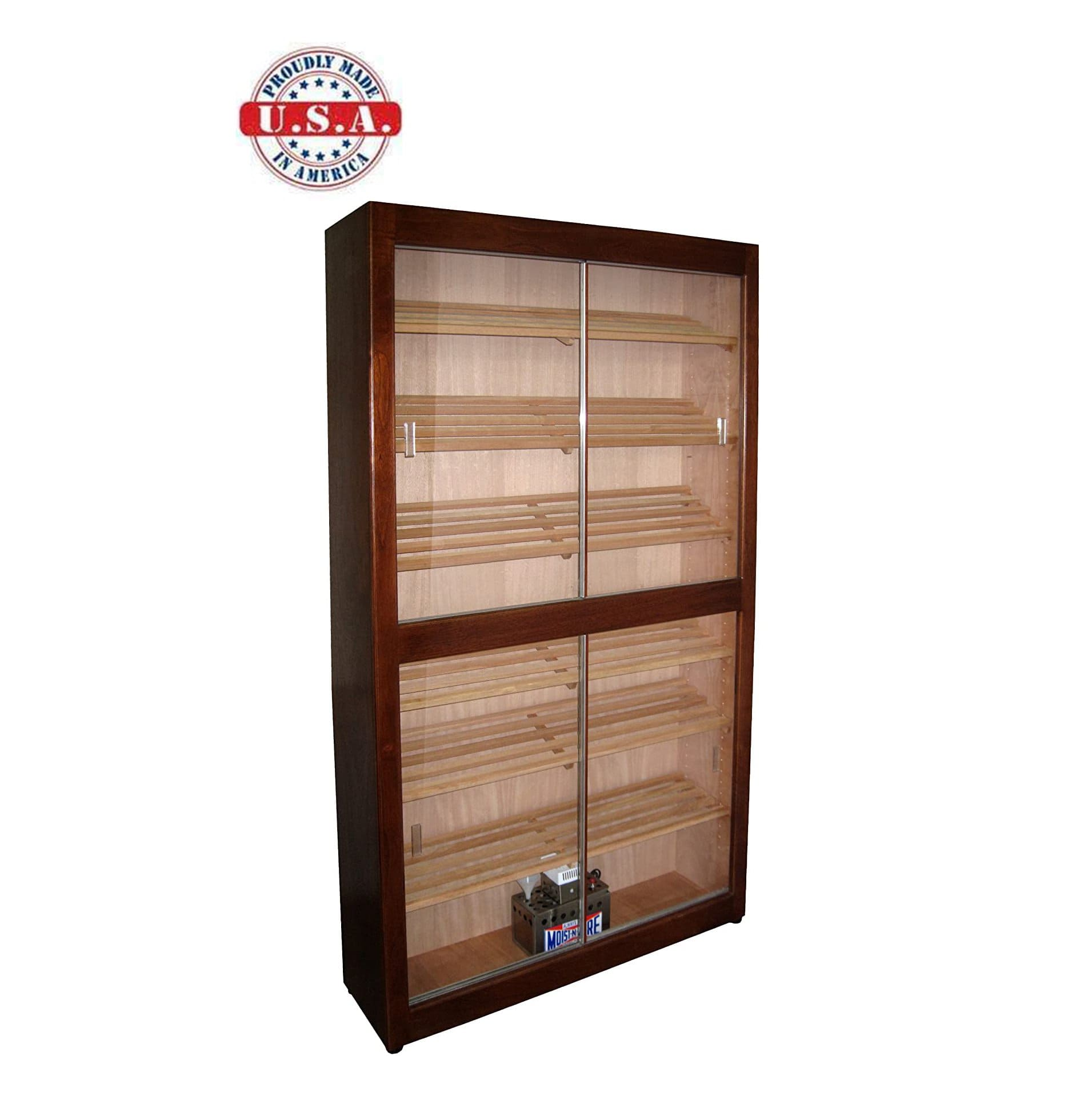 Elegant Bar HUMIDOR Model 3 Elegant Commercial Display Cigar Humidor, one of the best humidor cabinets