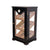 Quality Importers Point of Sale Display Humidor Mahogany