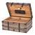 Quality Importers Renaissance 120 Cigar Reclaimed Wood Humidor